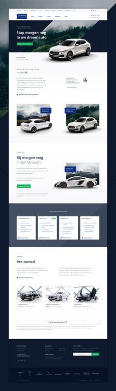 #webdesign #landingpage #ui #maserati #responsive #design #website
