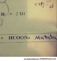 Solving Chemistry Problems Like A True Boss
