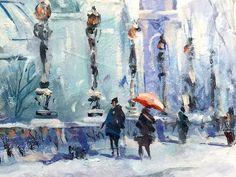"Trevor Waugh - "" Promenade "", Paris"