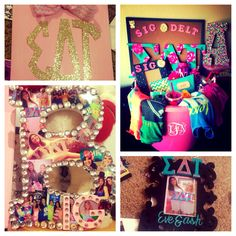 Sorority Crafts! Big Little Gifts, Sigma Delta Tau @ The University Of Texas at Austin