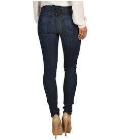 Hudson Nico Mid Rise Super Skinny in Adam, $187. (Suggested item to recreate this working mom weekend casual look: http://www.closet-coach.com/2013/01/09/working-mom-outfit-of-the-week-slouchy-sweater-skinny-jeans/)