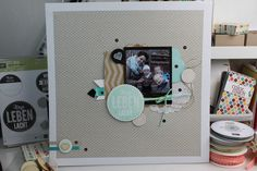 "Scrapbook-Layout ""Das Leben Lacht"" - Stampin' Up!"
