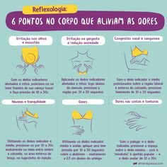 Reflexologia: Toque em 6 pontos do corpo para aliviar as dores Health And Wellness, Health Care, Body Hacks, Holistic Healing, Better Life, Healthy Tips, Reiki, Good To Know, Body Care