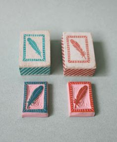Hand carved stamps