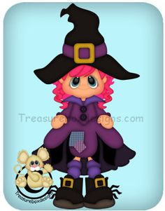 Leggy Witch - Treasure Box Designs Patterns & Cutting Files (SVG,WPC,GSD,DXF,AI,JPEG)