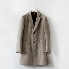 Frenn Company Oy Finland men's clothing grey coat - miesten villakangastakki Suomi uusi suomalainen vaatefirma