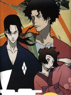 Kazuto Nakazawa, Samurai Champloo, Mugen, Jin, Fuu