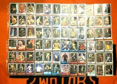 Wwe Wrestling Card Lot No Duplicates 72 cards