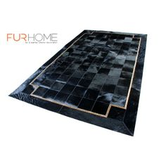 our all new real hide rug , we custom in any size