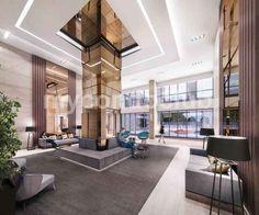 Super Sonic Condos is a new condominium development at Eglinton Ave East & Don Mills Road,Toronto, ON. This development has a total of 299 condo units 30 Toronto Condo, Condo Design, Lobby Design, New Condo, Carpet Trends, Interior Photo, Condominium, Interiores Design, Midcentury Modern