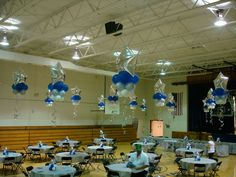 PICTURES OF WEDDINGS IN SCHOOL GYMS | ... School Event Decorations| Knoxville Balloons| Balloons | Above the