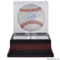 MIKE PIAZZA New York Mets Autographed Baseball and Mahogany Baseball Display Case FANATICS - Game Day Legends