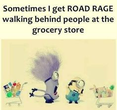 Ugh so annoying. Grocery stores are not for having a tea party...go to Starbucks if you want to stand around and chat! Get out of the middle of the freaking isle!!!!