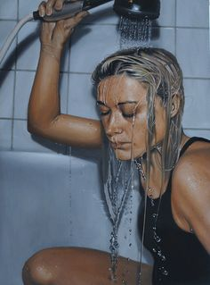 """Painter Linnea Strid (Sweden Portrait and detail. Searching for hiperrealism. Hyper Realistic Paintings, Amazing Paintings, Oil Paintings, A Level Art, Ap Art, Realism Art, Art Portfolio, Looks Cool, Art Sketchbook"