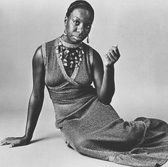"""We never talked about men or clothes. It was always Marx Lenin and revolutionreal girls talk. #bestillmyheart #ninasimone #goddess"