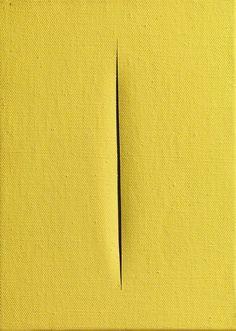 Concetto Spaziale   Lucio Fontana, Concetto Spaziale (1967)