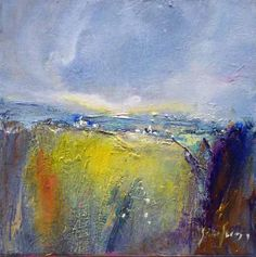 Steve Slimm: Essence of the Cornish landscape - dreamy and atmospheric. Inspiring Pictures, Welsh, Moonlight, Beautiful Things, Landscapes, Arts And Crafts, British, House, Painting