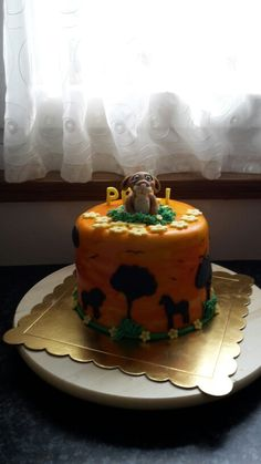 Lion cake Lion Cakes, Sweet, Kitchen, Desserts, Food, Cooking, Meal, Deserts, Essen