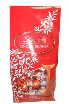 Lindt Lindtor Milk Chocolate Truffles 19 Ounce Gift Bag