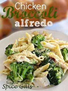 Spice Gals: Chicken Broccoli Alfredo