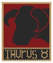 Taurus by Charley Hughes AKA BeadyBoop