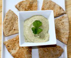 How to make Baba Ganoush - A classic Mediterranean/Middle Eastern eggplant dip.   Ingredients: Eggplant (Brinjal) - 1, halved Juice of 1 Lemon Sesame Paste - 1