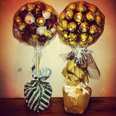 Fero Roche Chocolate trees I made as a christmas gift