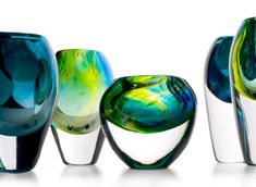 sini majuri combines 3D-design with glass blowing in her latest intricate vase collection | Netfloor USA