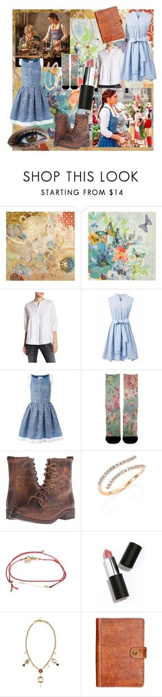 """Belle (town outfit)- Beauty and the Beast (2017)"" by movielooks ❤ liked on Polyvore featuring Daniel Rainn, Emma Watson, Chicwish, Chanel, Steve Madden, Kismet by Milka, dafné, Sigma, Dolce&Gabbana and Patricia Nash"