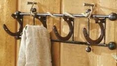 Coat rack or towel rack? Or maybe both!
