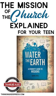 What does missions mean? Help your teens understand the mission of the Church with this great book on the theology of missions. Parenting Articles, Parenting Books, Parenting Tips, Homeschool High School, Homeschool Curriculum, Homeschooling, Bible Lessons, Lessons For Kids, Books For Teens
