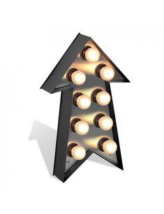 RECLAMA LUMINOASA - ARROW 797A/28  #artimgroup #acasa #decoratiuni #deco #Interior #magazin #online #romania #mobila #home #mobilier Romania, Wall Lights, Table Lamp, Lighting, Showroom, Interior, Group, Furniture, Home Decor