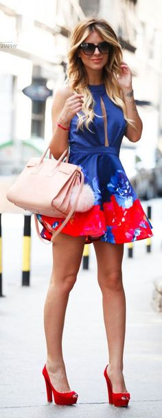 Nude Leather Handbag #Fashionistas