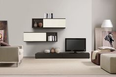 15 Modern TV Wall Units For Your Living Room   Tv walls, Modern tv ...