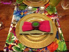 Flores, cores e o vaso de tubos [http://www.tabletips.com.br]