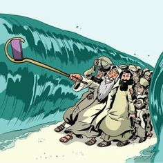 The Red Sea selfie . Humor Religioso, Funny Cartoons, Funny Jokes, Hilarious, Jesus Pictures, Funny Pictures, Humor Cristiano, Christian Jokes, Jewish Humor