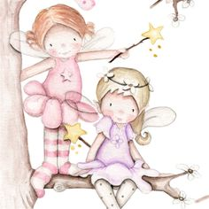 Baby Fairy, Pink Balloons, Kids Boutique, Girly Pictures, Tooth Fairy, Character Drawing, Pretty Art, Painting Patterns, Drawing For Kids