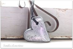 These faux silver hearts are so easy and you will fool your friends into thinking you have picked up a new skill as a metal smith.