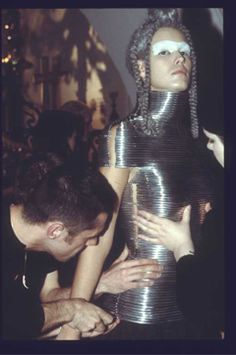 VIDEO: THE MAKING OF THE 'COILED CORSET' FOR ALEXANDER MCQUEEN, THE OVERLOOK, AUTUMN/WINTER 1999 | Shaun Leane