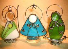 Angelitos de vitral - Imagui