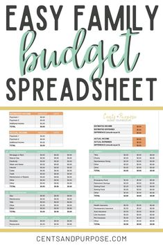 24 Best Simple Budget Template images in 2017 | Business
