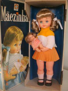 Boneca Maezinha 1974 - R$ 430,00 no MercadoLivre