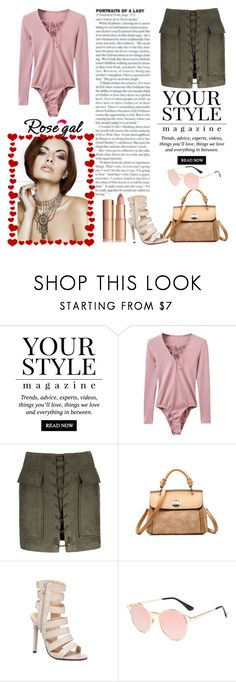 """Rosegal contest"" by adancetovic on Polyvore featuring Pussycat"