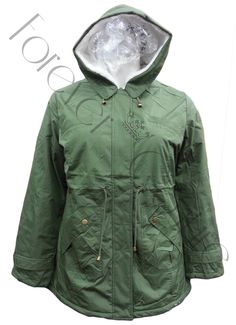Khaki Parka Jacket with Snow Hood Product Code: 711 Pack of 6 PiecesWas £23.50  Now £18.00 per Piece VAT: 0%  FC
