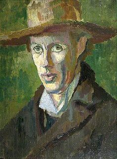 Duncan Grant (UK, - Adrian Stephen - 1910 - oil on canvas - Charleston, Lewes, UK Duncan Grant, Life Drawing, Painting & Drawing, Vanessa Bell, Art Grants, Bell Art, Bloomsbury Group, Your Paintings, Portrait Paintings
