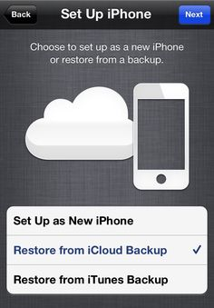 iOS: How to back up iphone