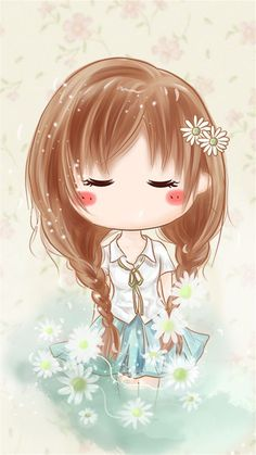 Cute Drawings Iphone Wallpaper Kawaii Wallpaper Kawaii Chibi Cute Chibi Kawaii