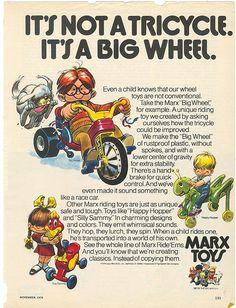 Big Wheel ad