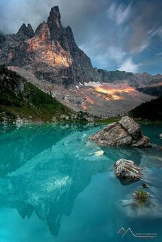 Lake Sorapiss - Dolomiti