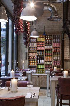 lighting. #restaurant #interior